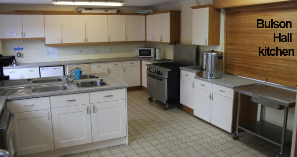 Bulson Hall kitchen